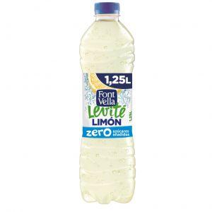 Agua refrescante limon zero levite font vella 1,25 l