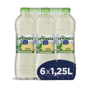 Agua refrrescante  hierbabuena levite font vella pet 1,25l