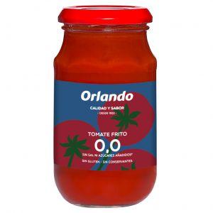 Tomate frito 0% orlando frasco 295 gr