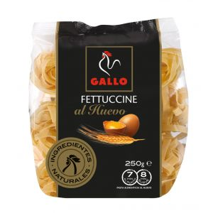 Pasta fettuccine huevo gallo 250g