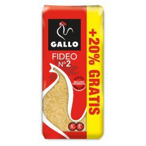 Pasta fideo nº2 gallo 500g