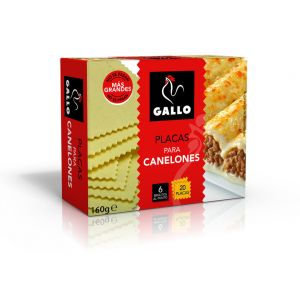 Pasta canelones gallo 160g