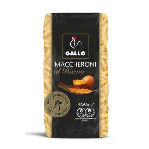 Pasta macarron macheroni huevo gallo 450g