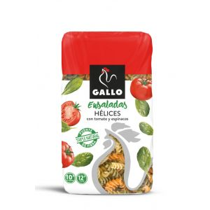 Pasta helices vegetal gallo 450g