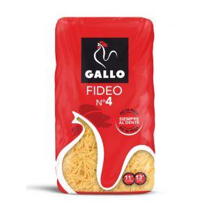 Pasta fideo n4 gallo 450g