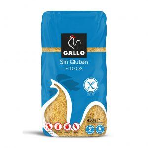 Pasta fideo sin gluten gallo 450g