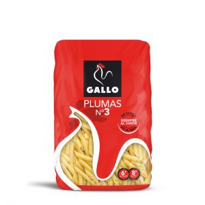 Pasta macarron pluma n3 gallo 450g