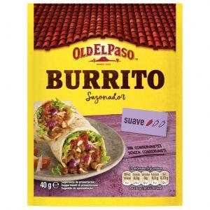 Sazonador burritos old el paso 40g