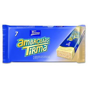 Chocolatina blanco ambrosia tirma p7x21,5g