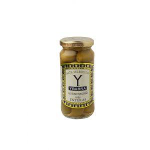 Aceituna manzanilla alta selección ybarra tarro 120g