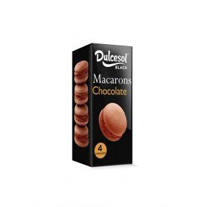 Macarons  chocoalate dulcesol  p4x80g