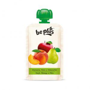 Pouch manzana-pera-melocoton be plus 100gr