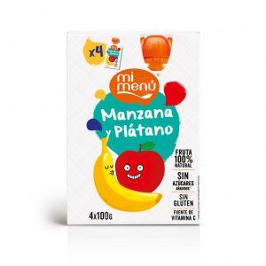 Pouch  fresa platano be plus 100g