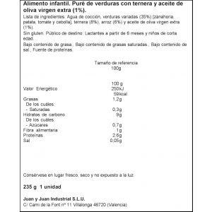 Tarrito  verd tern dulcesol  235g