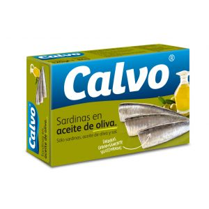 Sardina  aceite de oliva calvo rr115 84g ne