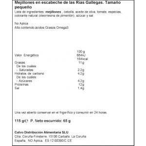 Mejillon salsa vieira calvo 13/18 rr15 69gne