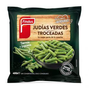 Judias troceadas verdes findus 400g
