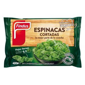 Espinacas cortadas findus 400g