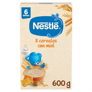 Papilla  8 cereales miel nestle  600g