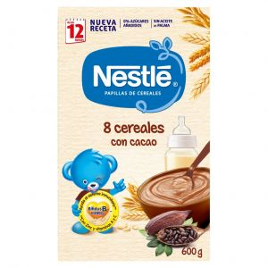 Papilla cereal cereal cacao nestle  600g