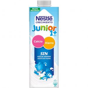 Leche crec junior 1+  nestle  1l