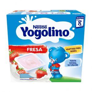 Postre lacteo  fresa nestle  p4x400g