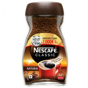 Cafe soluble natural nescafe 100 gr