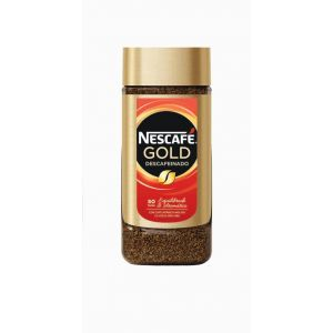 Cafe soluble descafeinado gold solo nescafe 100 gr
