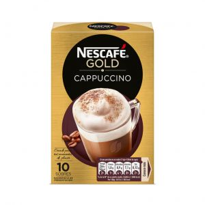 Cafe soluble capuccino natural nescafe 10 sobres