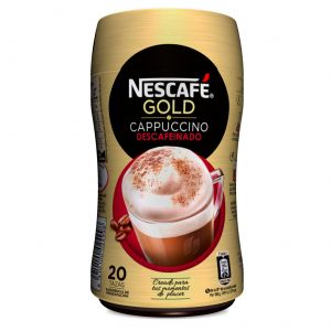 Cafe soluble capuccino descafeinado nescafe 250 gr