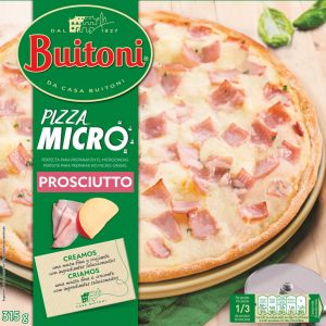 Pizza jamon y queso buitoni 315g