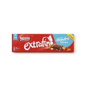 Chocolate con leche y almendras nestle  300g