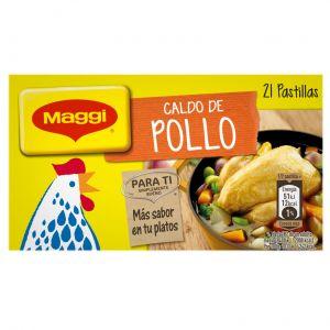 Caldo de pollo maggi 24 pastillas
