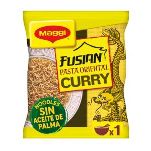 Pasta oriental de curry maggi 69g