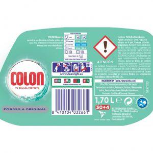 Detergente gel colonia colon 30 dosis 2,01 litros