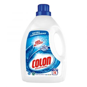 Detergente gel azul colon 74 dosis 4,958 litros