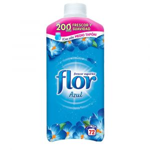 Suavizante concentrado azul flor 64 dosis 1,54 l