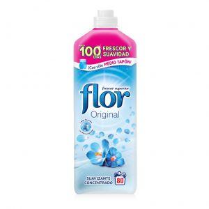 Suavizante concentrado azul flor 80 dosis