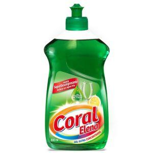 Lavavajillas mano concentrado  coral 500 ml