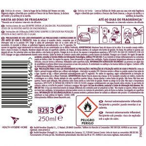 Ambientador automatico delic vera air wick recambio 250 ml