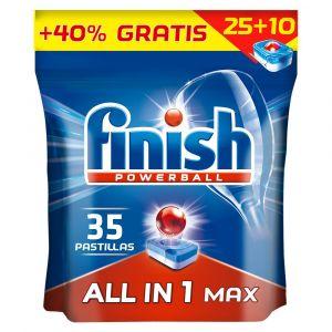 Lavavajillas máquina pastilla finish regular 25 dosis