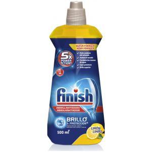 Abrillantador lavavajillas limón finish 500 ml