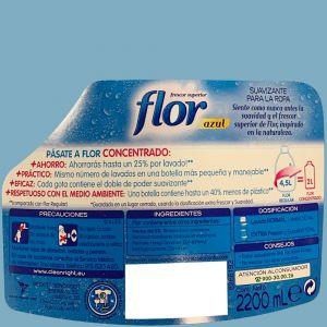 Suavizante concentrado azul flor 44 dosis 2,196 l