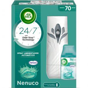 Ambientador automatico nenuco air wick aparato + recambio 250 ml