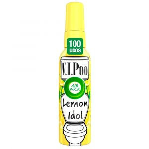 Ambientador pulverizador para wc aroma lemon king v.i.poo air wick spray 55ml