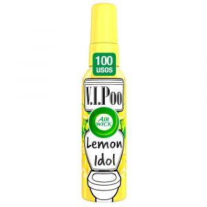 Ambientador pulverizador para wc aroma lemon king v.i.poo air wick spray 55ml