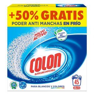 Detergente en polvo colon 45 dosis 3,285kg