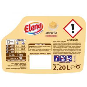 Detergente líquido marsella elena 40 dosis 2,64 litros