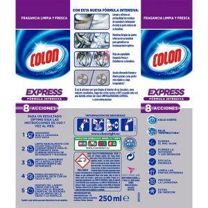 Limpiamáquina expres colon 250 ml
