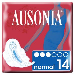 Compresa alas normal air dry ausonia 14ud